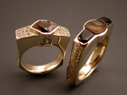 wedding rings mfa harris ring agate wesley dendritic